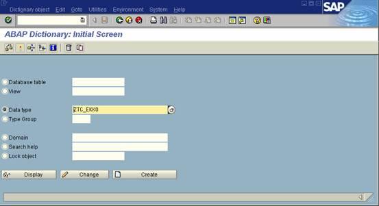 SAP-ABAP: Create ABAP dialog screen dynpro Table Control