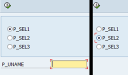 ABAP Radiobutton on SAP report selection screen - Initiate AT