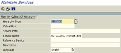 Disable SAP User Personalisation in Web Dynpro app
