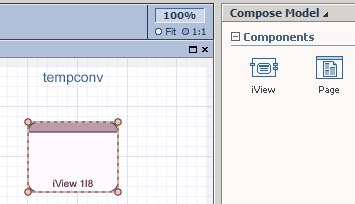 Visual composer webservice to convert temperature - SAP
