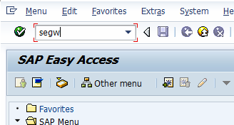 Create a simple OData SAP Gateway Service